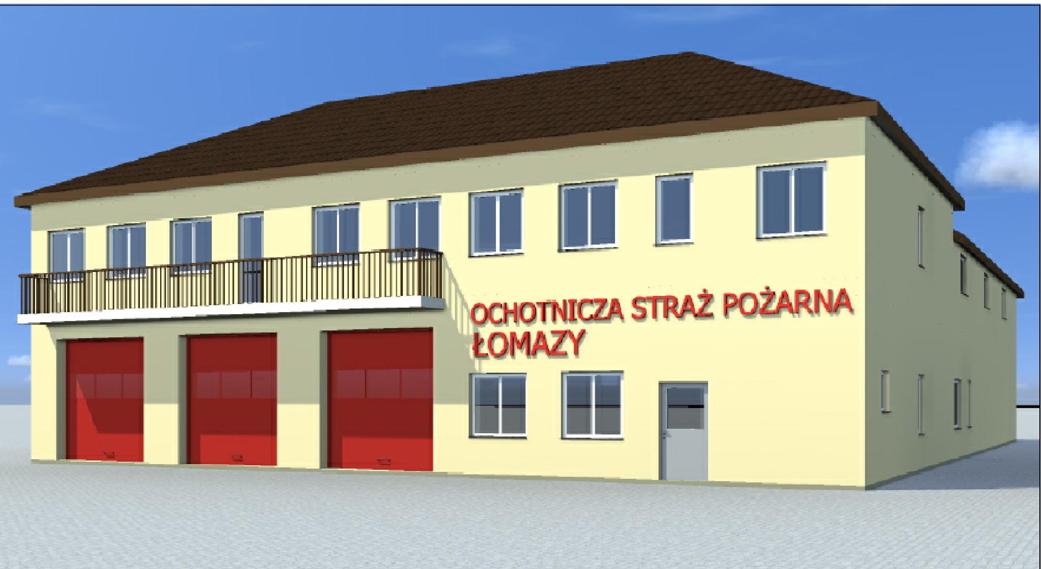 Remiza OSP w Łomazach zyska nowy blask - Zdjęcie główne