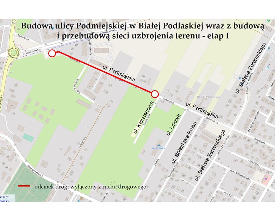 Rusza remont Podmiejskiej. Bedą utrudnienia - Zdjęcie główne