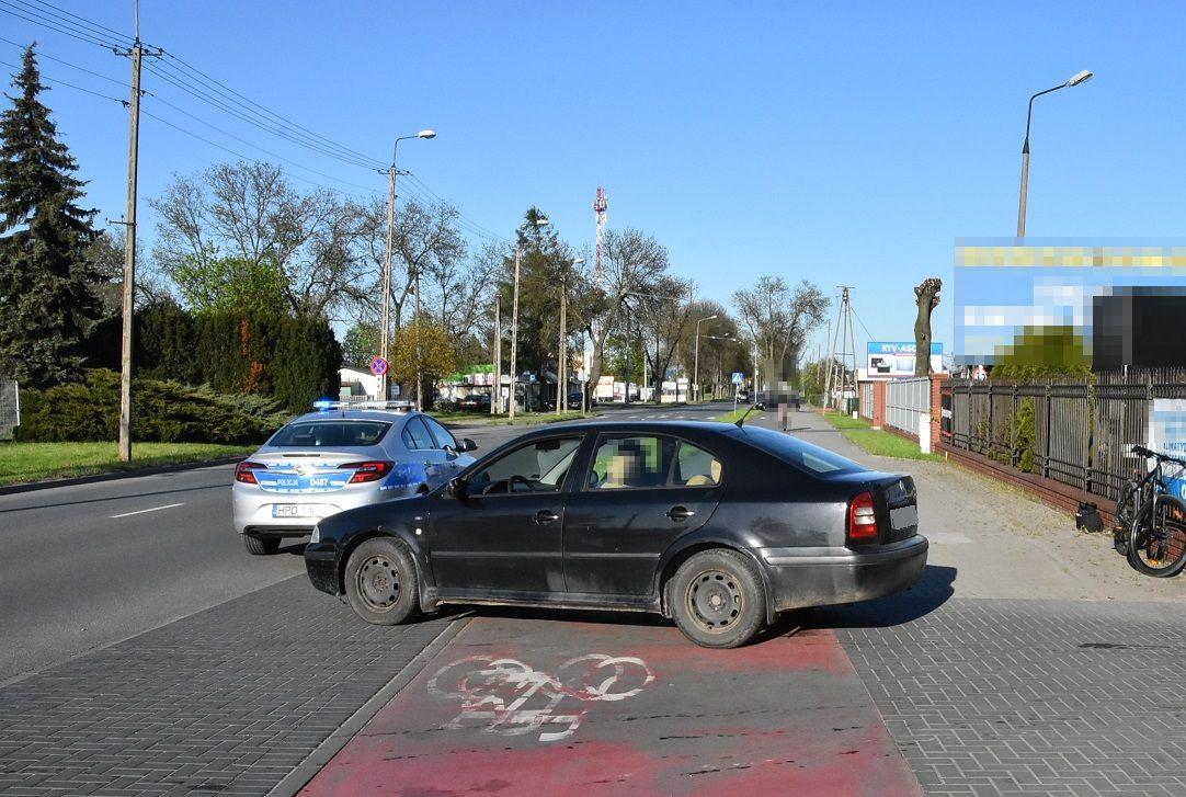Biała Podlaska: Kierowca skody nie ustąpił mu pierwszeństwa. Rowerzysta trafił do szpitala - Zdjęcie główne