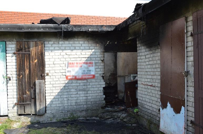 Odpowie za podpalenie budynku - Zdjęcie główne