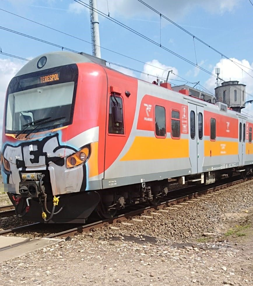 Śmiertelne potrącenie pieszej przez pociąg w Małaszewiczach - Zdjęcie główne