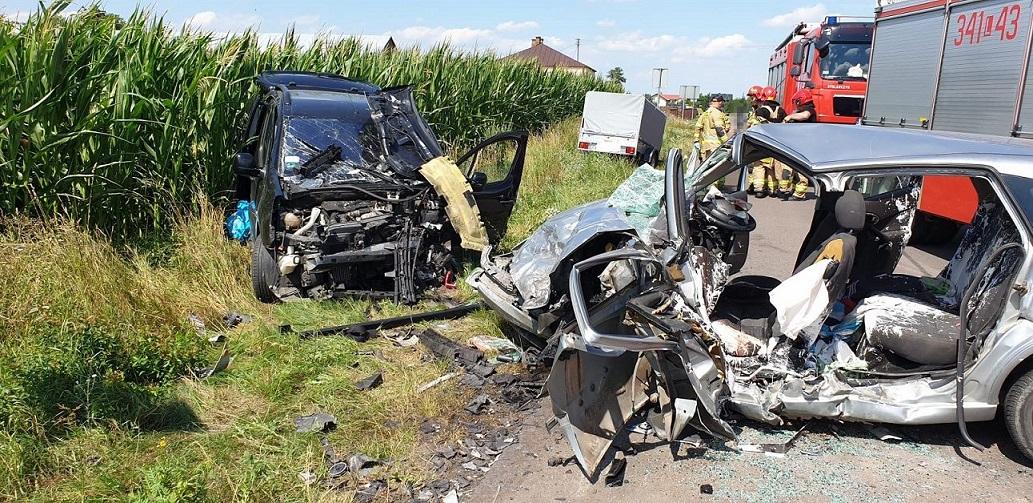 Powiat bialski: Śmiertelny wypadek w miejscowości Ortel Książęcy Drugi. Jedna osoba nie żyje, dwie trafiły do szpitala - Zdjęcie główne