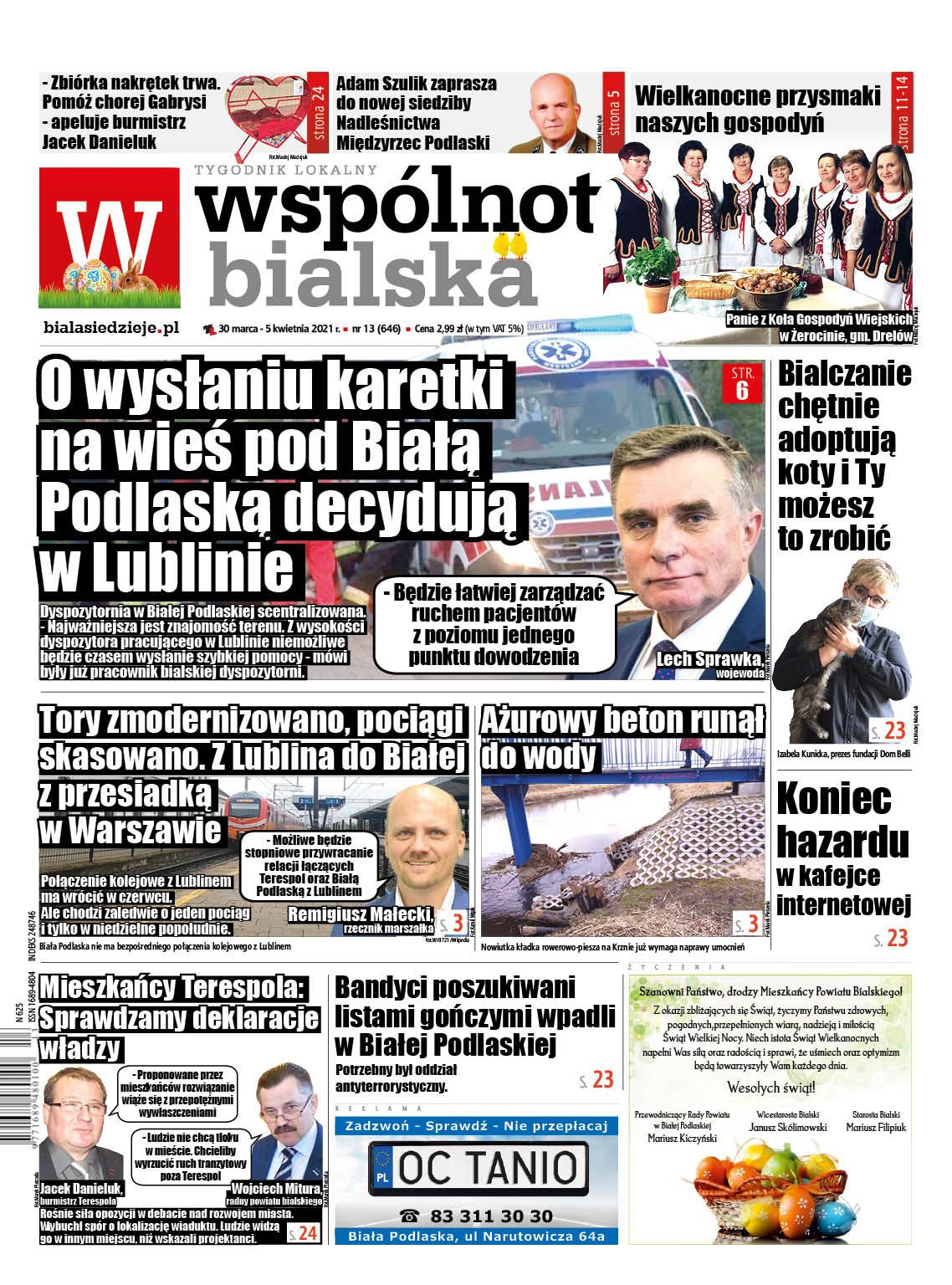 O wysłaniu karetki na wieś pod Białą Podlaską czy Międzyrzec decydują w Lublinie - Zdjęcie główne