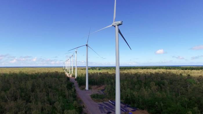 Gigantyczne wiatraki nad Wisznicami. Inwestycja za 140 milionów - Zdjęcie główne