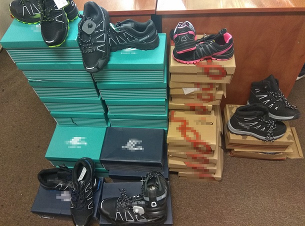 """""""Podróbki"""" butów w terespolskim sklepie - Zdjęcie główne"""