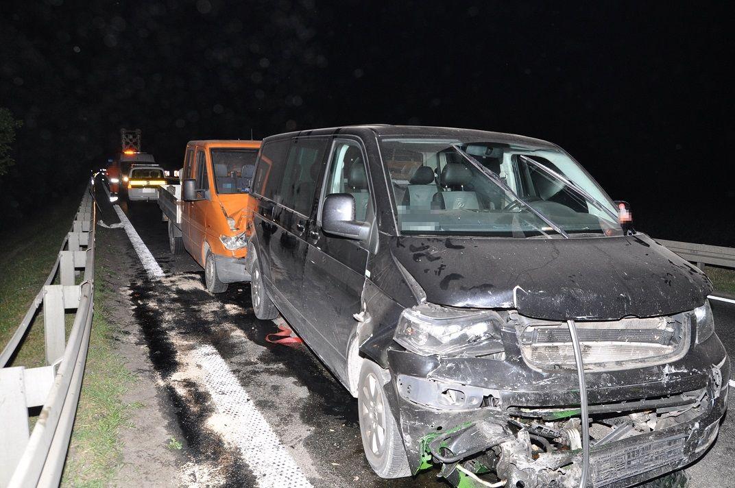 Wypadek z udziałem trzech aut na krajowej dwójce - Zdjęcie główne