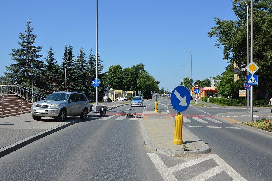 Biała Podlaska: Potrącił rowerzystkę na przejeździe - Zdjęcie główne