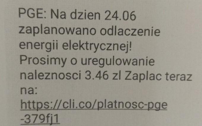 Gm. Biała Podlaska: Oszukany na niedopłatę do prądu. Stracił ponad 3 tys. zł - Zdjęcie główne