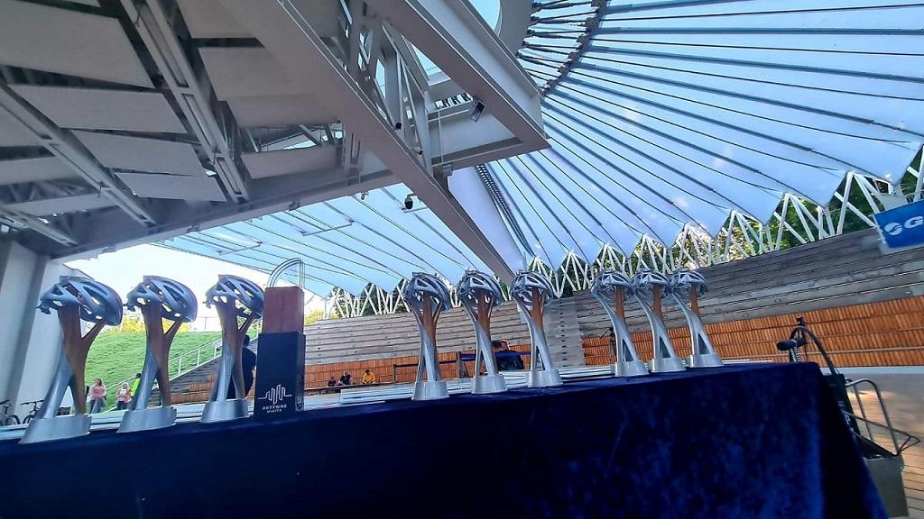 """Policjanci zajęli drugie miejsce w rywalizacji o """"Puchar Rowerowej Stolicy Polski"""" - Zdjęcie główne"""