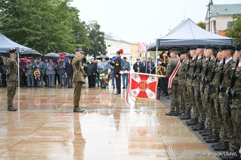 Lublin: 82. rocznica wybuchu II wojny światowej. Przypomniano o wydarzeniach z 1939 roku - Zdjęcie główne