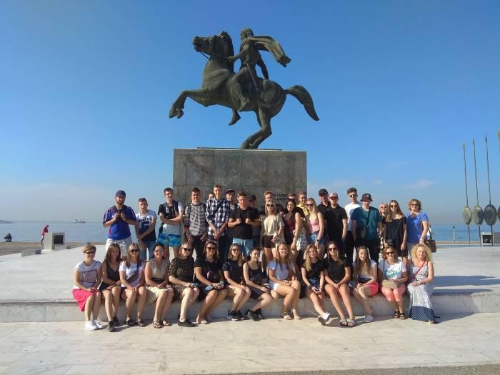 Grecka przygoda i szkoła życia naszych uczniów - Zdjęcie główne