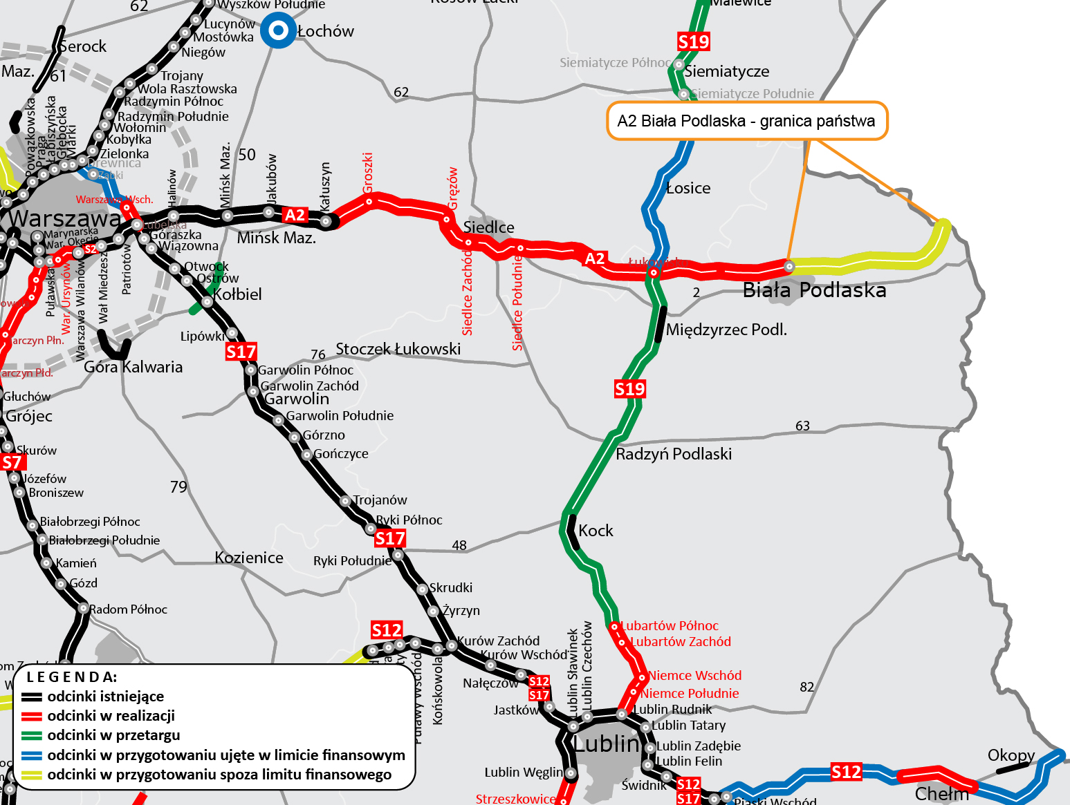 Podpisano umowę na ostatnie 32 kilometry autostrady A2 - Zdjęcie główne