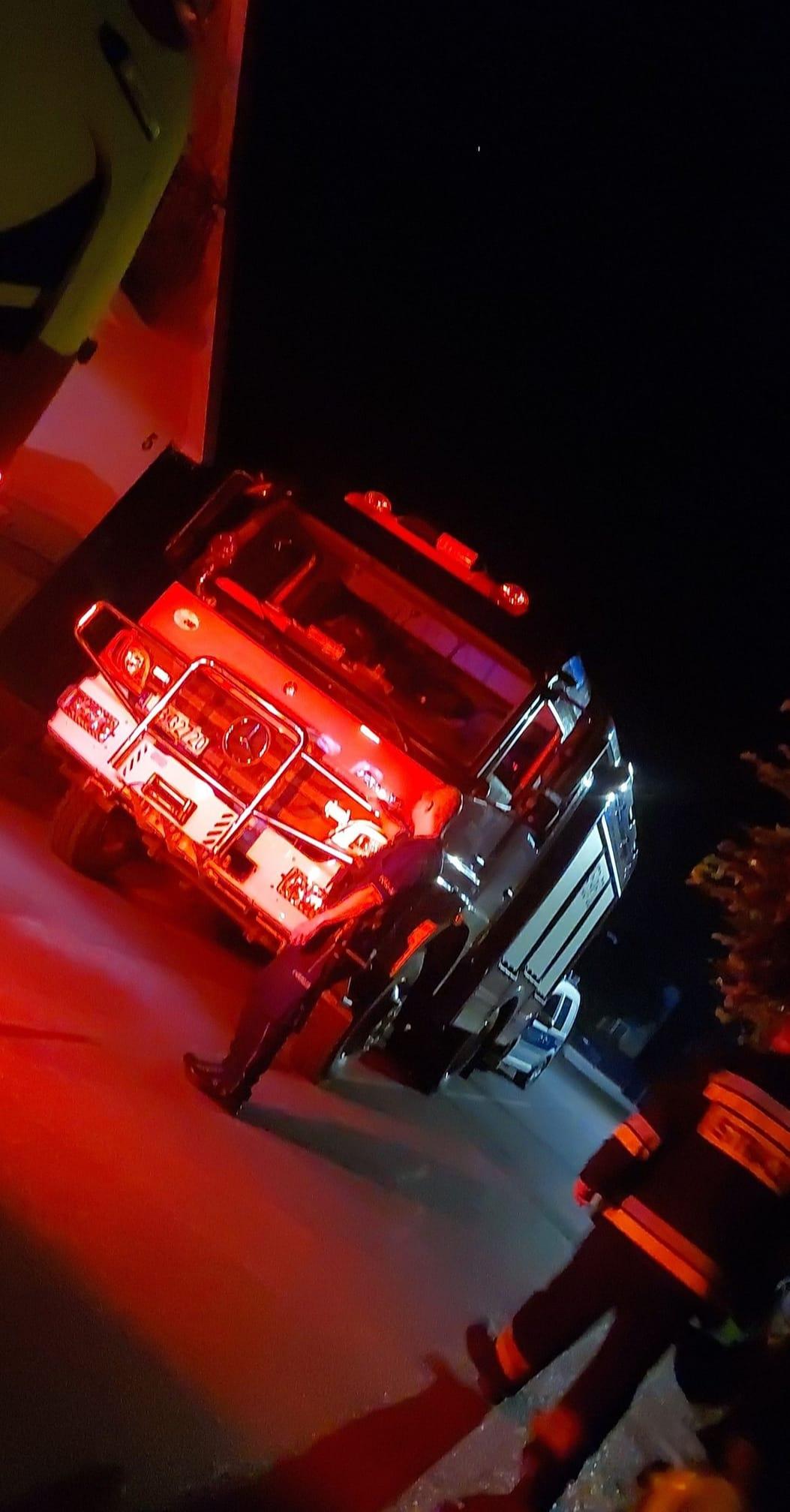 Straż pożarna i policja interweniowały w Kamionce. Mężczyzna groził, że skoczy z balkonu - Zdjęcie główne