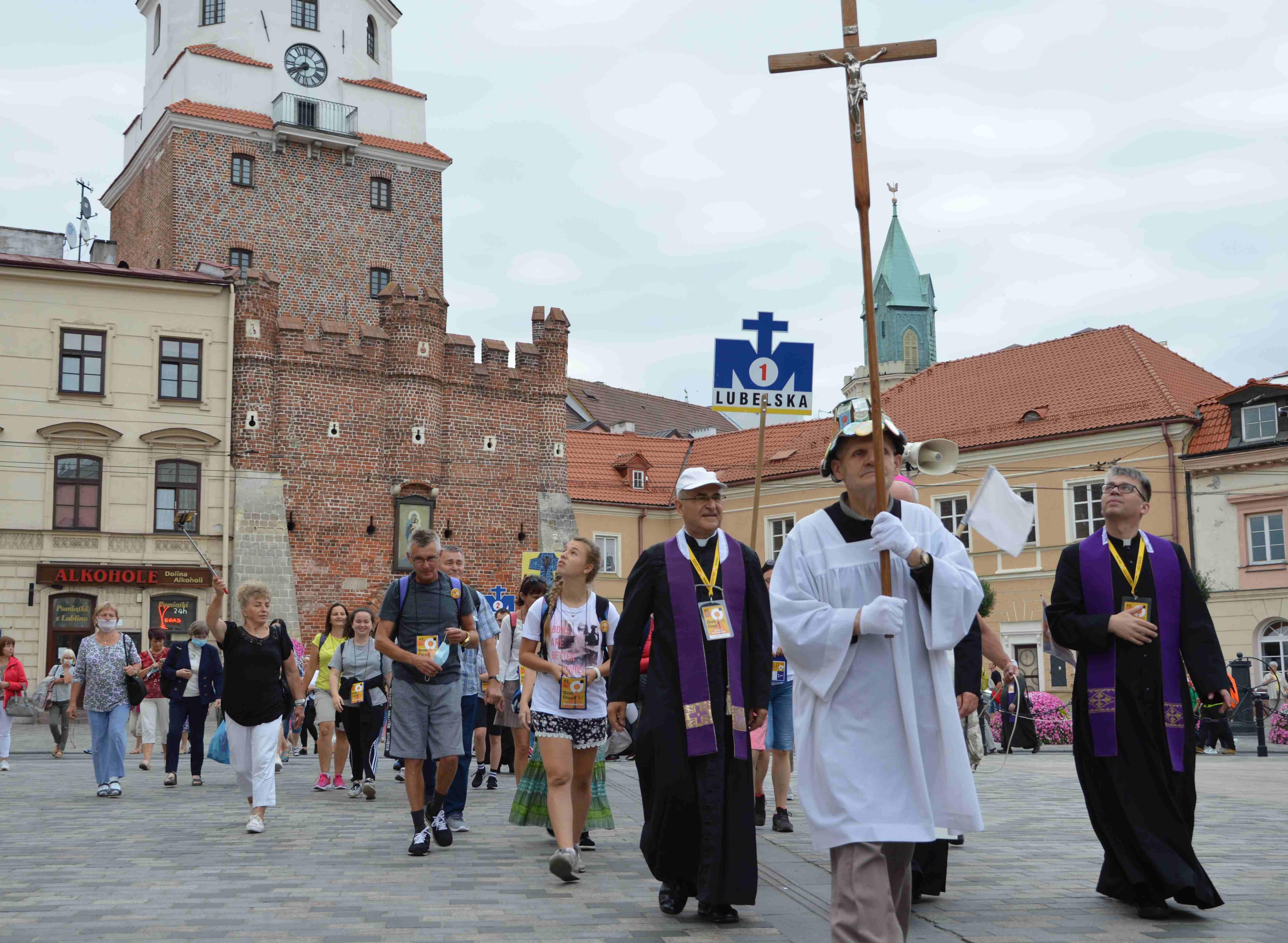 Archidiecezja lubelska: Tegoroczna Lubelska Piesza Pielgrzymka znowu w formie sztafety - Zdjęcie główne