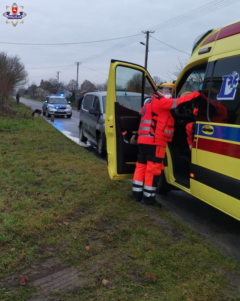 Starsza kobieta zginęła w wypadku w Michałówce - Zdjęcie główne