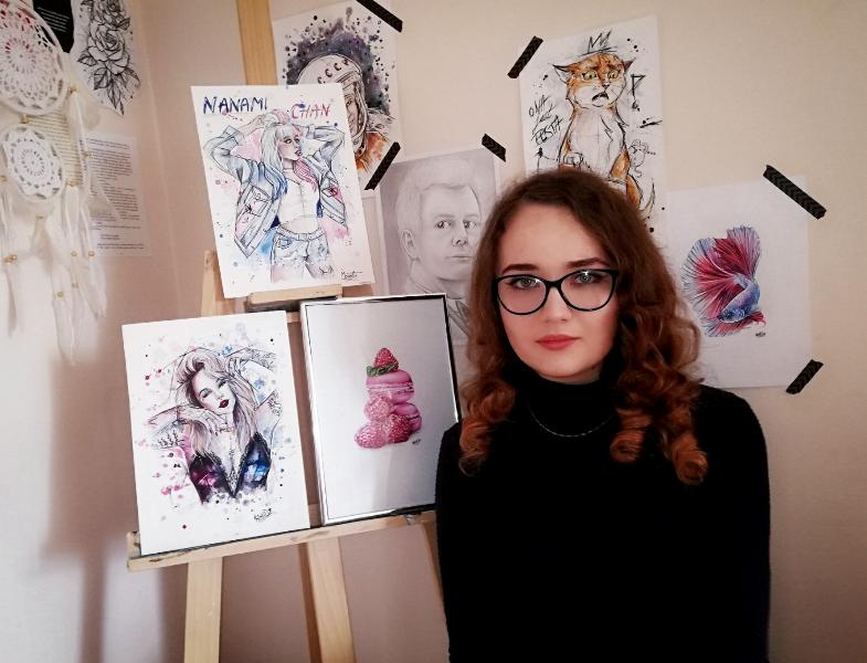 Klaudia Kęska z RCEZ w Lubartowie wśród najlepszych autorów prac plastycznych w Polsce - Zdjęcie główne
