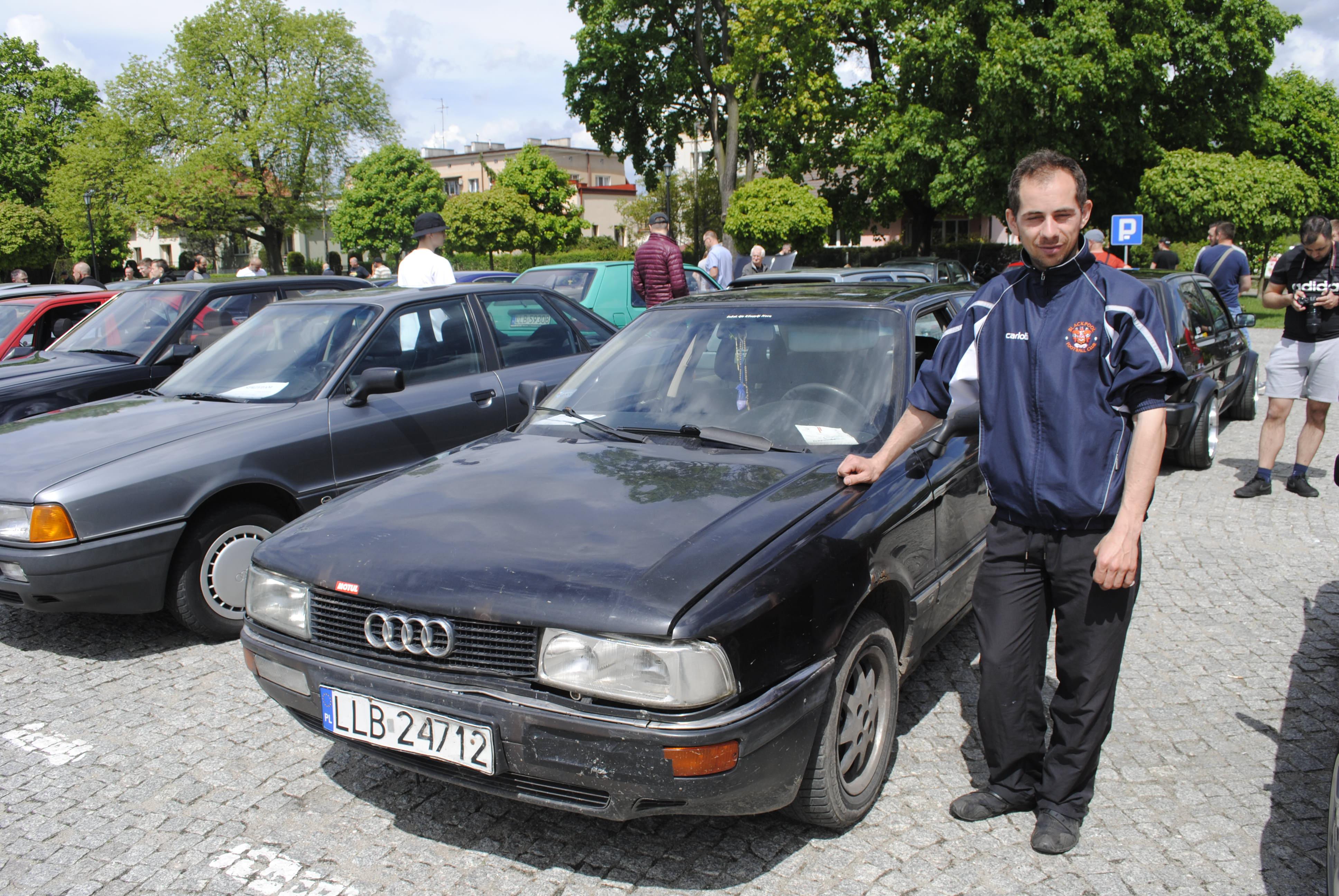 Do Lubartowa zjechały stare samochody z całego województwa - Zdjęcie główne