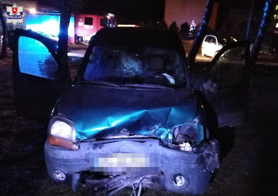 Ostrów Lubelski: Trzeźwy wjechał w pijanego kierowcę - Zdjęcie główne