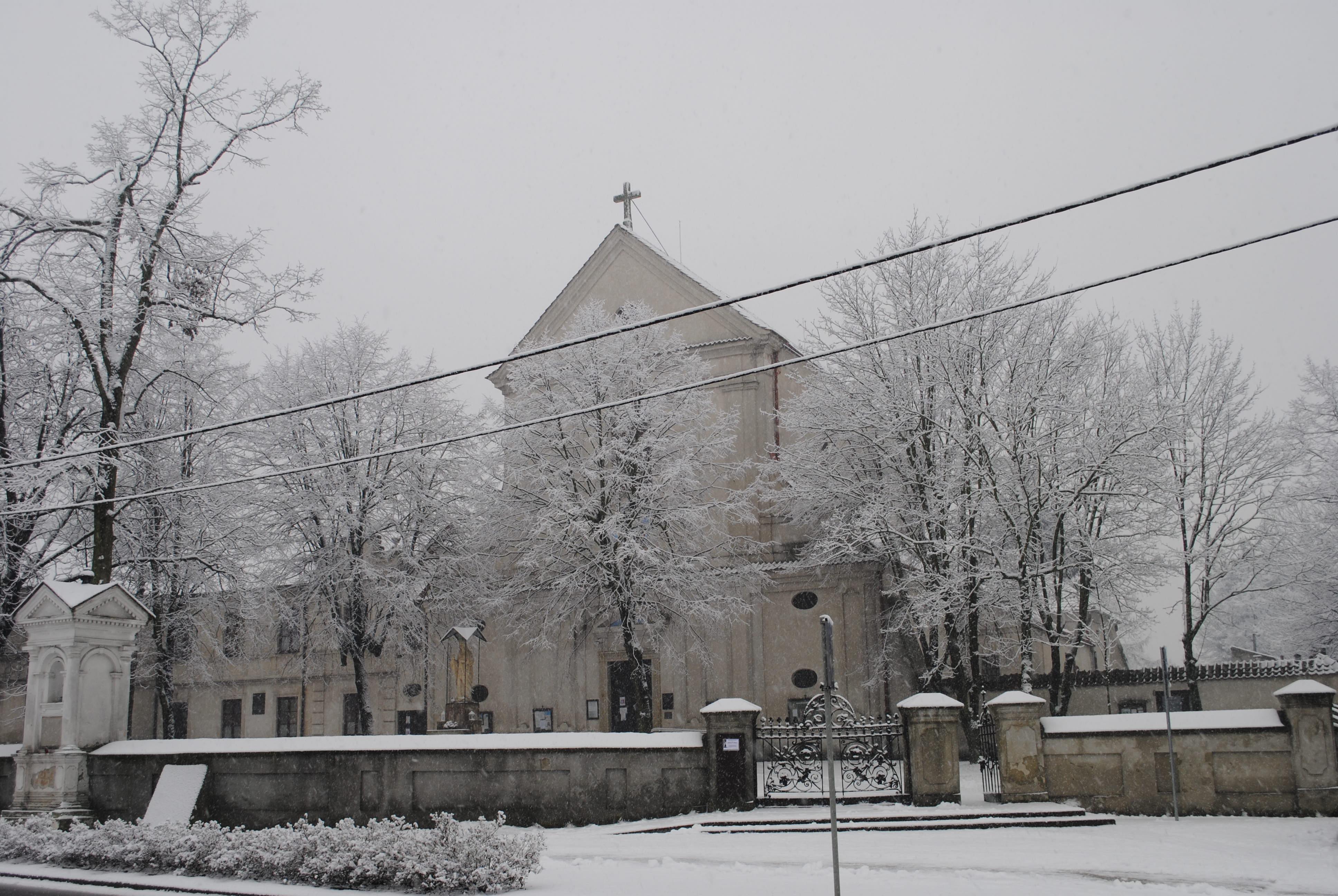 Zima w Lubartowie nie odpuszcza. Nowe opady śniegu - Zdjęcie główne