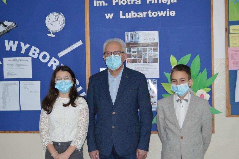 Stypendyści ze Szkoły Podstawowej nr 3 w Lubartowie - Zdjęcie główne