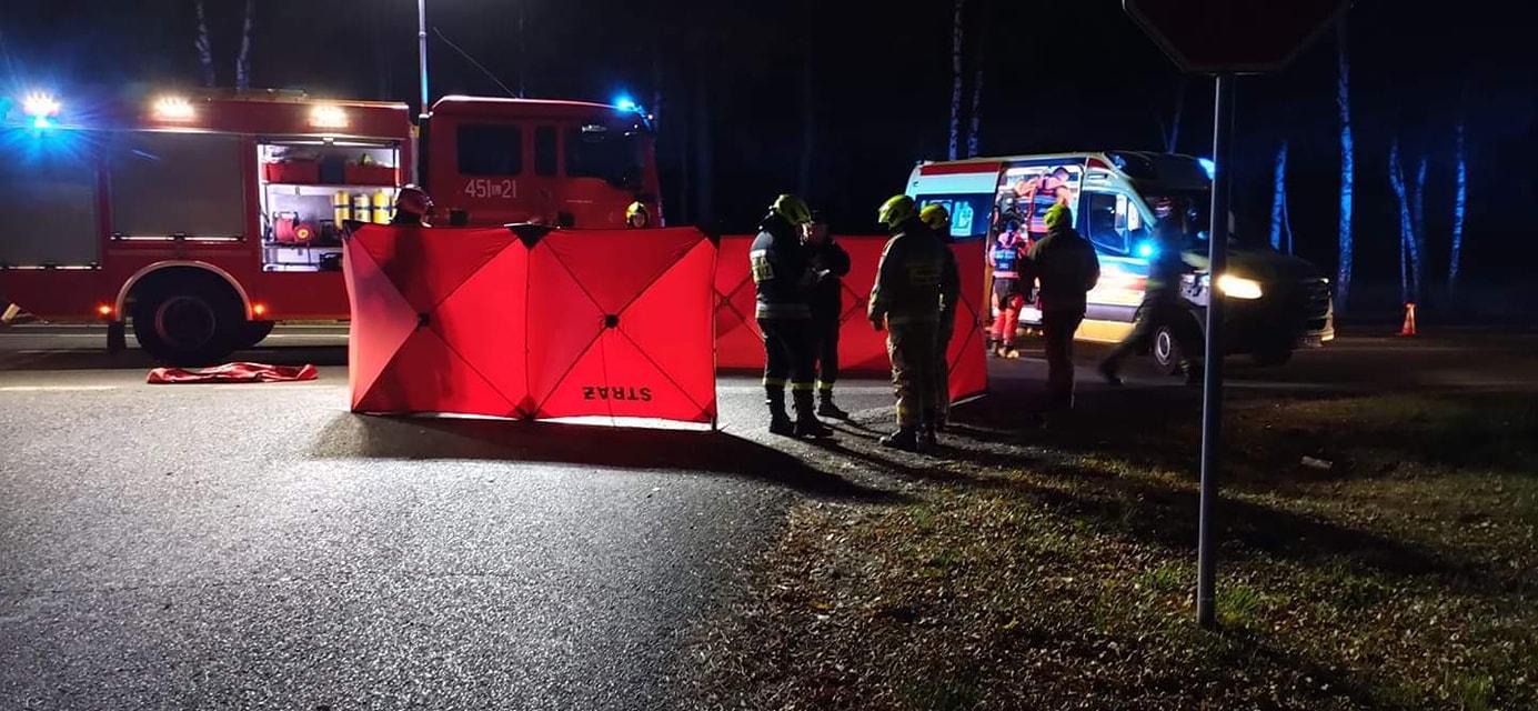 Wola Lisowska: Ciężarówka śmiertelnie potrąciła pieszego - Zdjęcie główne