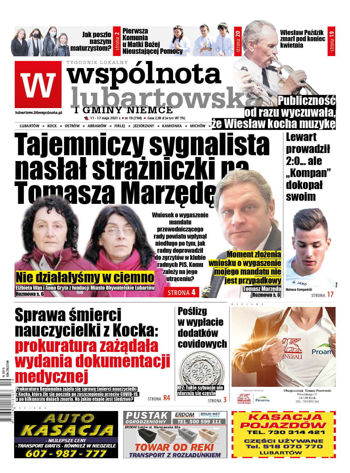 Sygnalista nasłał strażniczki na Tomasza Marzędę - Zdjęcie główne