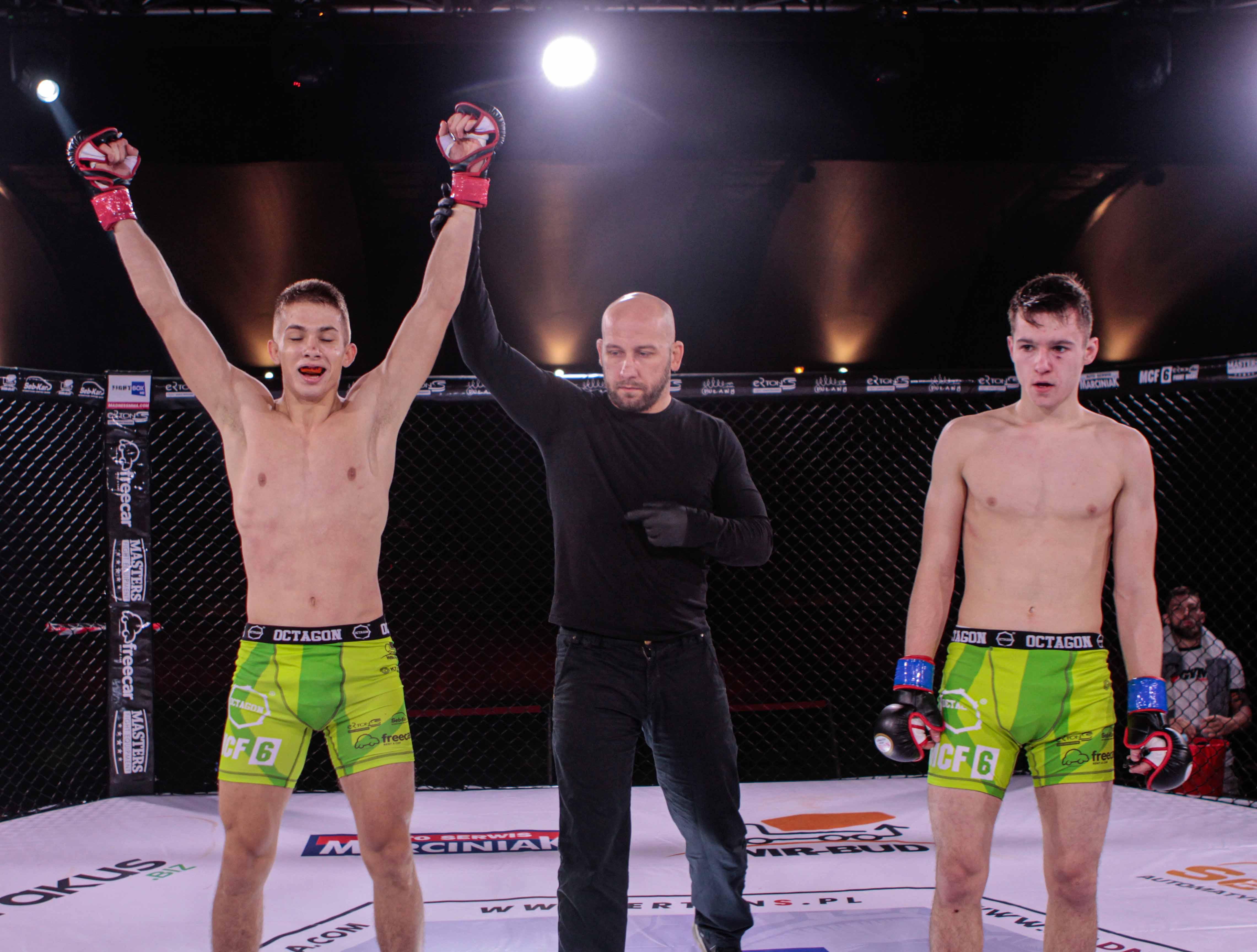 Błyskawiczne zwycięstwo Krystiana Olszty z MKS Lubartów - Zdjęcie główne