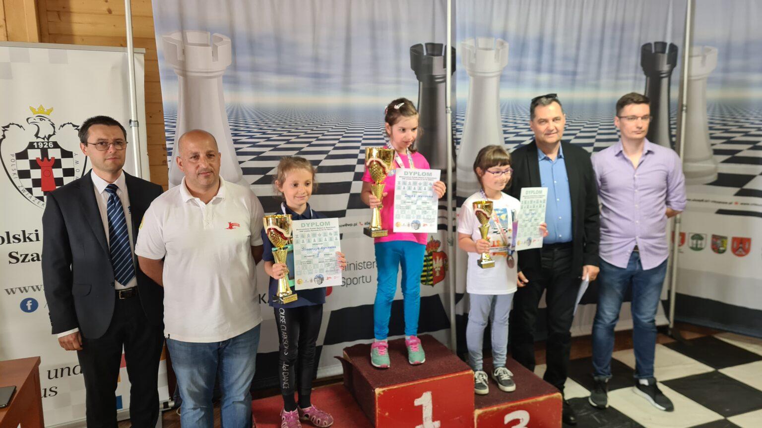 Weronika Dajek z Lubartowa szachową mistrzynią Polski - Zdjęcie główne