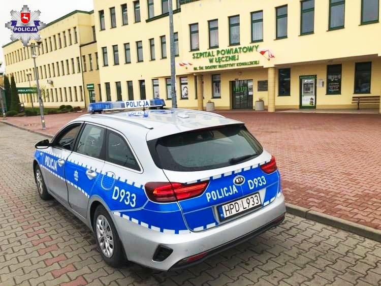 25-latka, która uległa oparzeniu, podziękowała lubartowskim policjantom - Zdjęcie główne