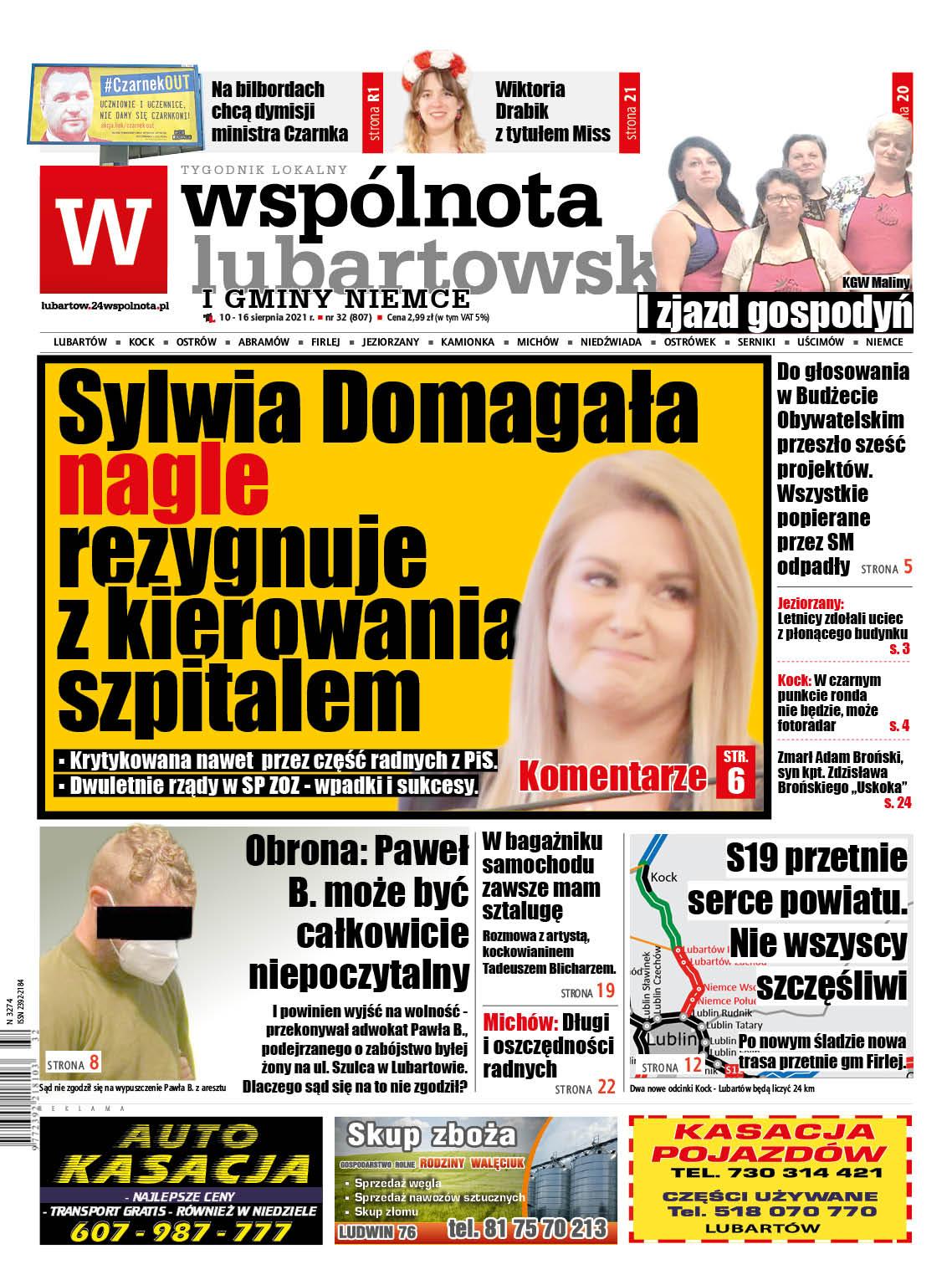 Sylwia Domagała zrezygnowała z posady dyrektora szpitala w Lubartowie! - Zdjęcie główne