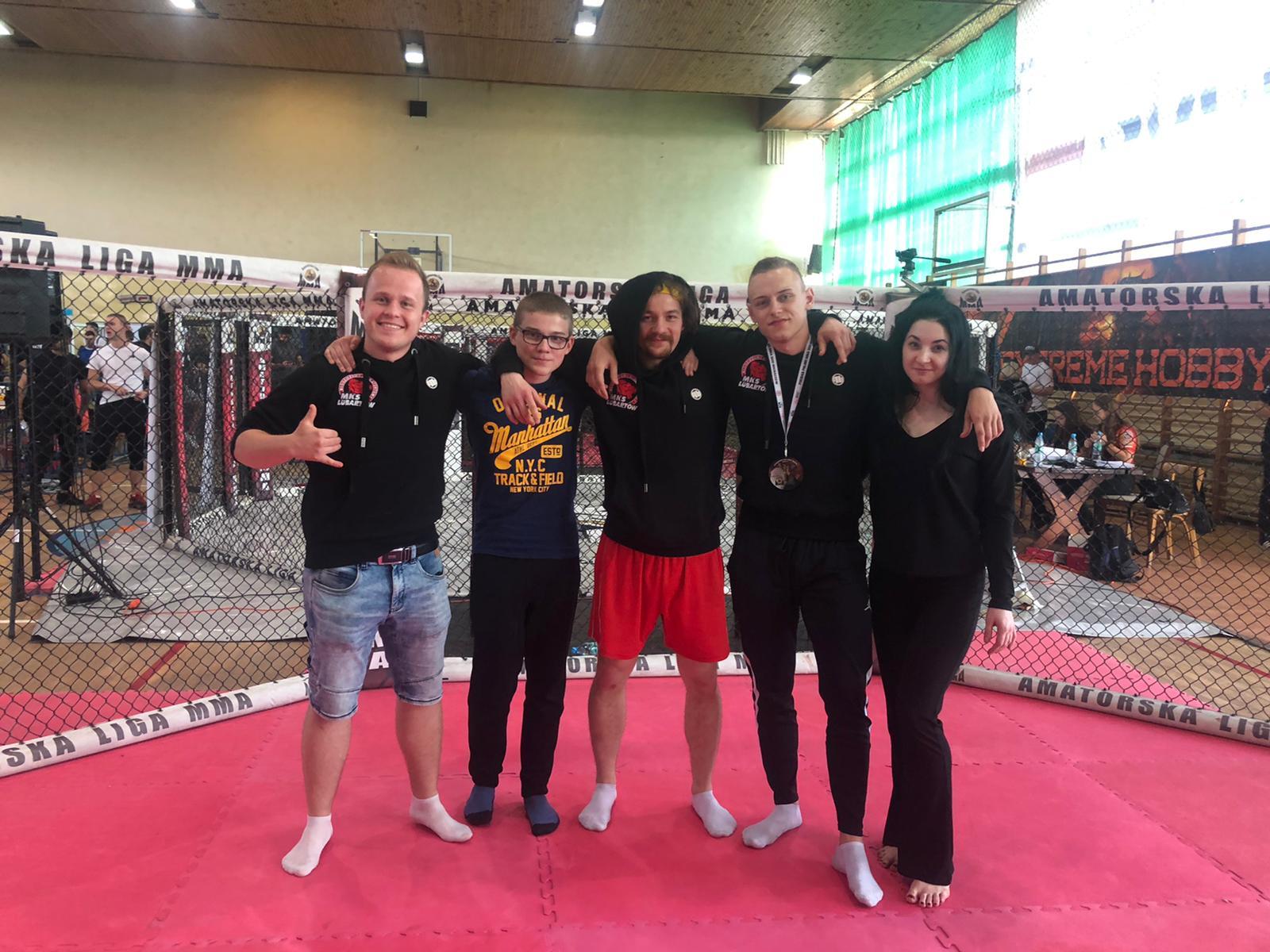 Zawodnicy MKS Lubartów na podium. Sukces na Pucharze Polski MMA 2021 - Zdjęcie główne