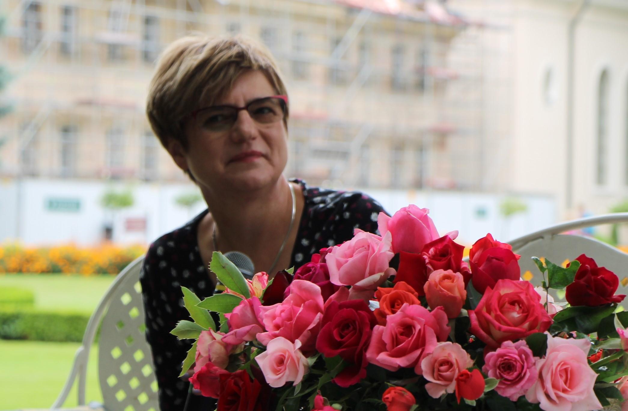 Anna Fic - Lazor dyrektorem, nie tylko p.o. w Muzeum Zamoyskich w Kozłówce - Zdjęcie główne