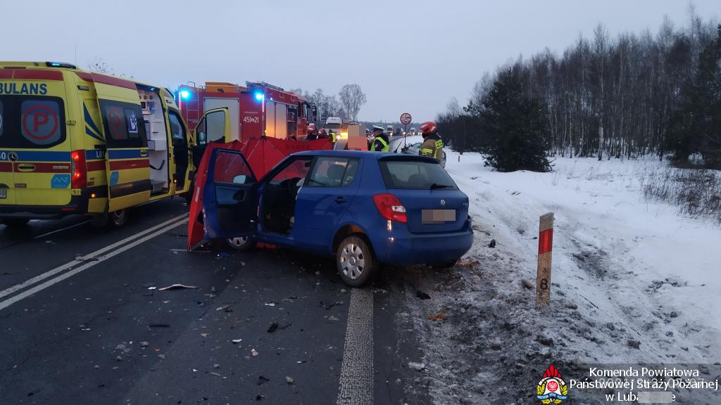 Śmiertelny wypadek na skrzyżowaniu Nowodworskiej z obwodnicą (Aktualizacja, zdjęcia) - Zdjęcie główne