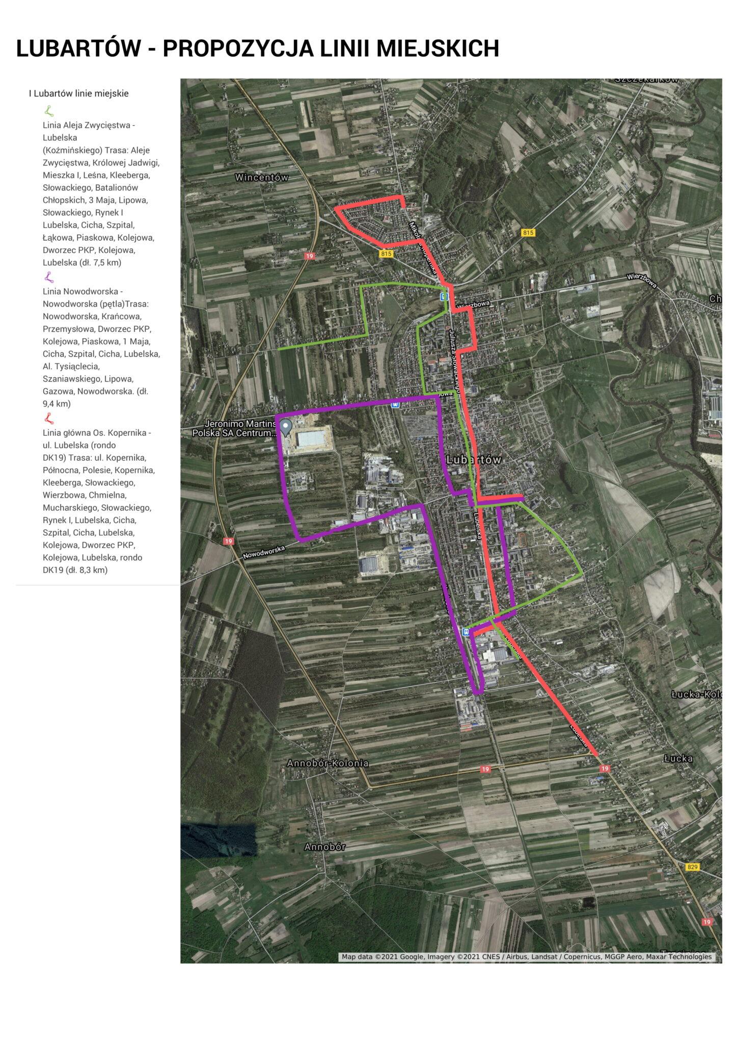 Ruszyły konsultacje o komunikacji miejskiej. Lubartowski ratusz proponuje linie autobusowe - Zdjęcie główne