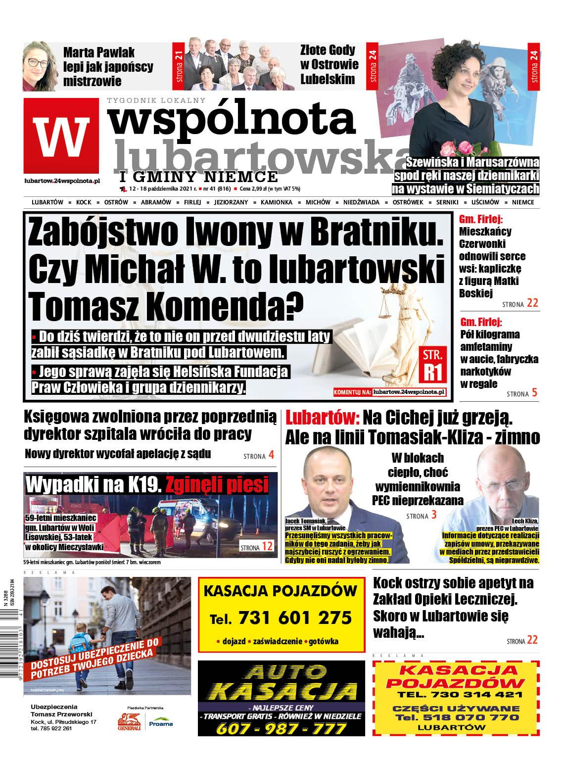 Zabójstwo w Bratniku. Czy Michał W. to lubartowski Tomasz Komenda? - Zdjęcie główne