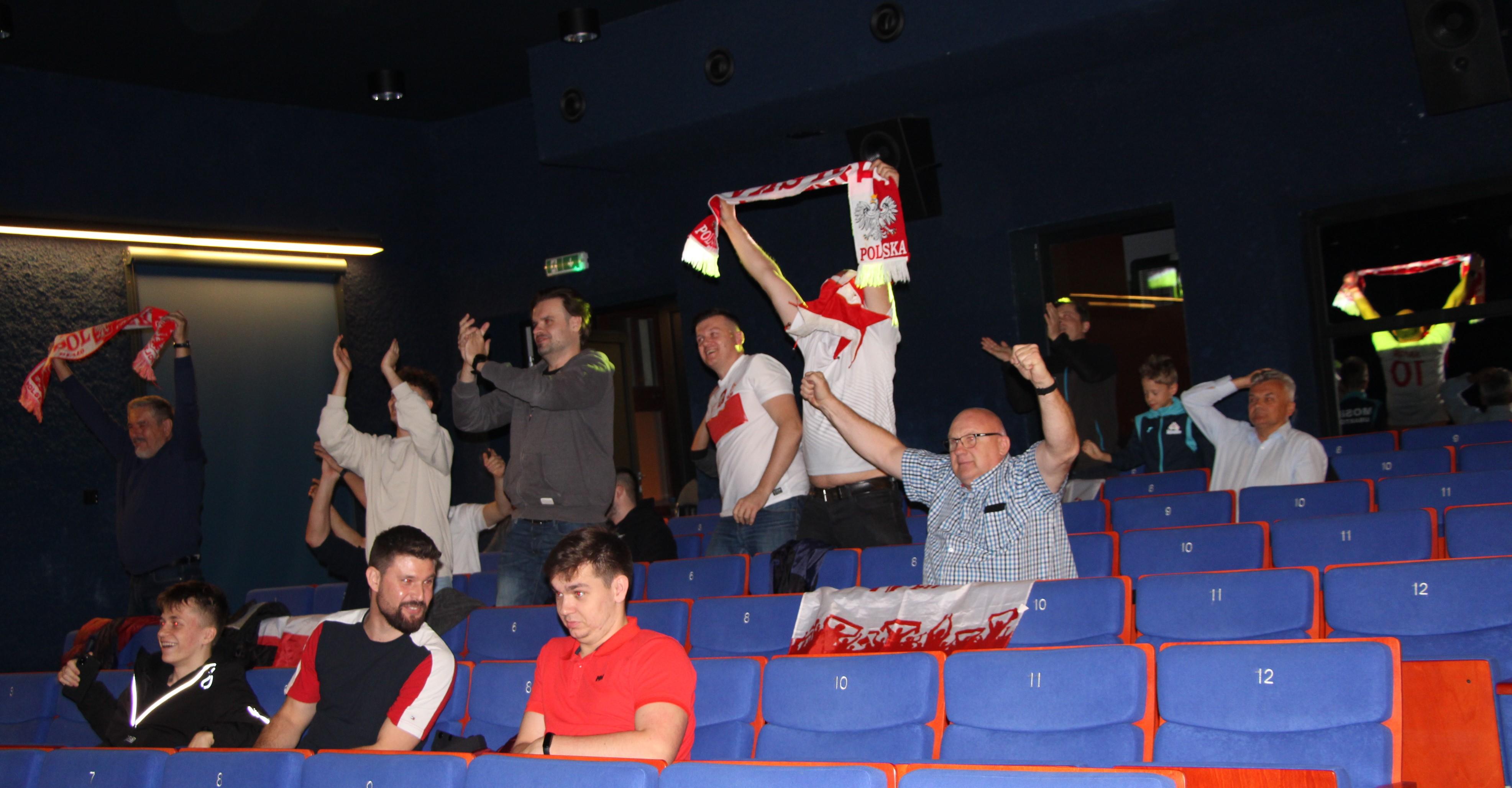 Lubartów: mecz z Albanią na ekranie w kinie - Zdjęcie główne