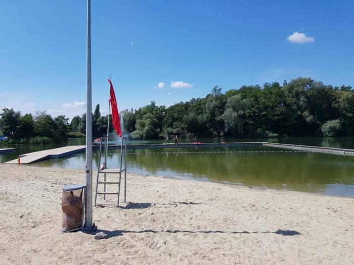 Sinice zablokowały kąpielisko - Zdjęcie główne
