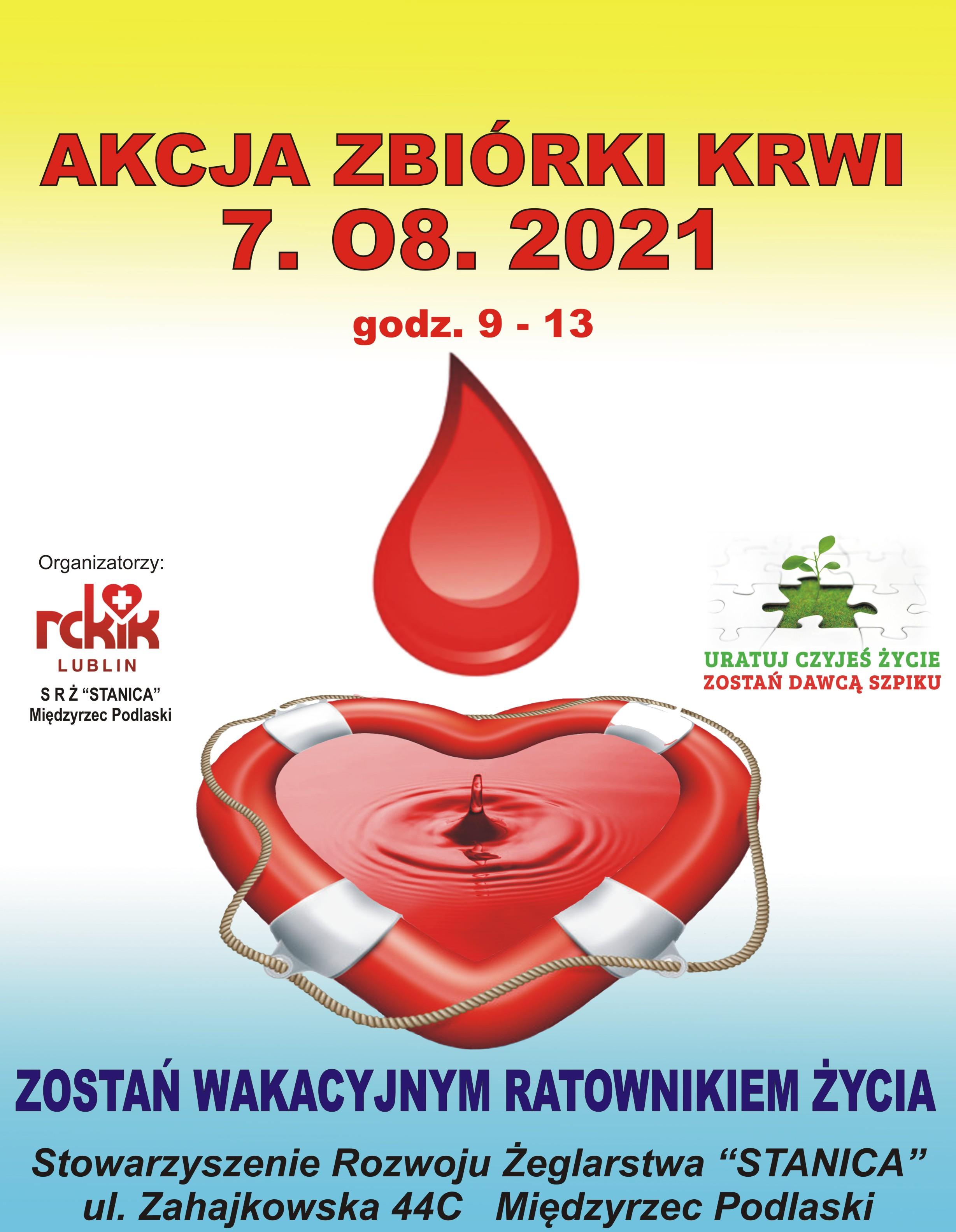 Rusza akcja zbiórki krwi - Zdjęcie główne