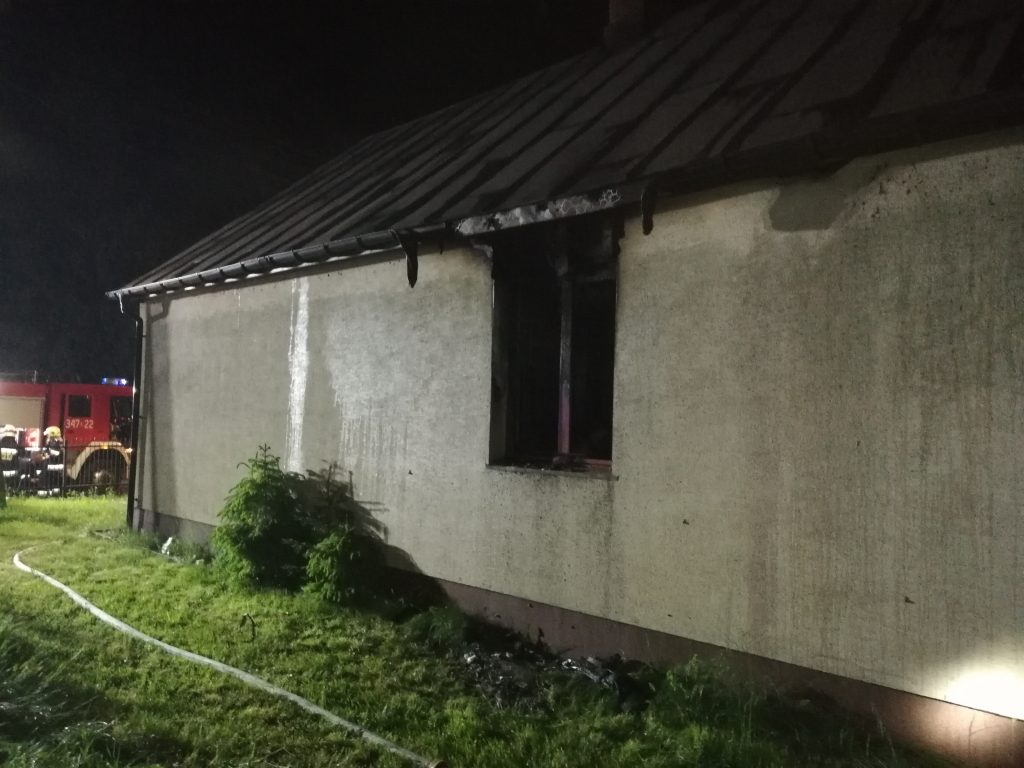 Pożar domu w Berezie. Straty na 300 tys zł - Zdjęcie główne