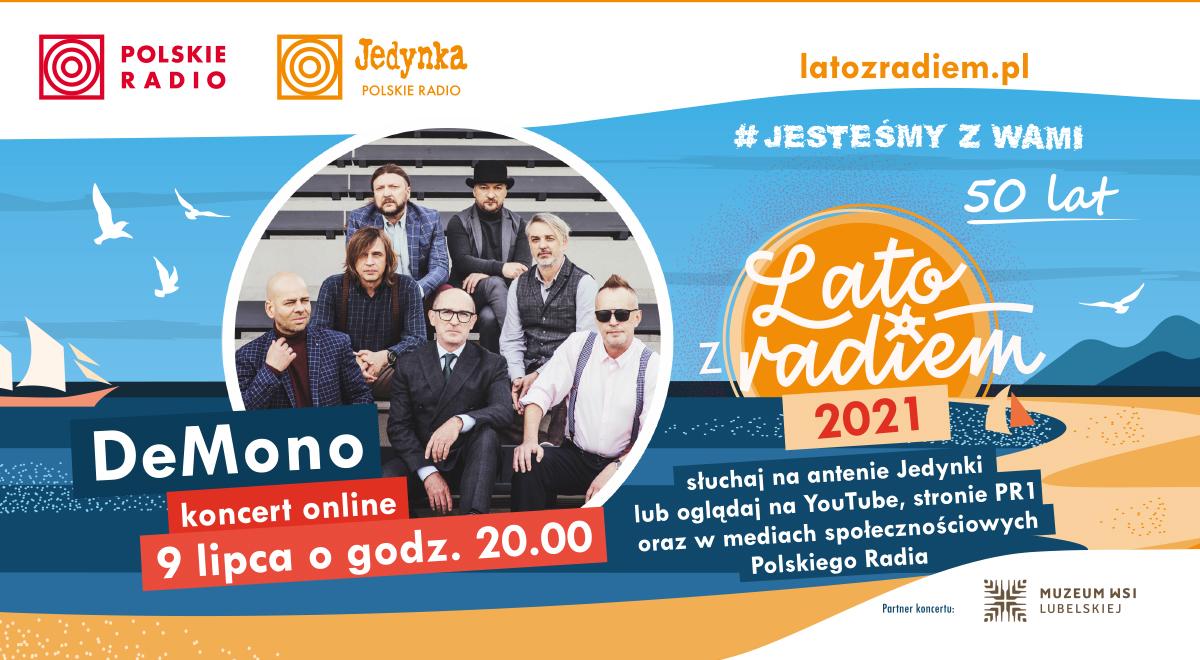 Lublin: De Mono zagrało w skansenie ramach Lata z Radiem. Będzie transmisja koncertu - Zdjęcie główne