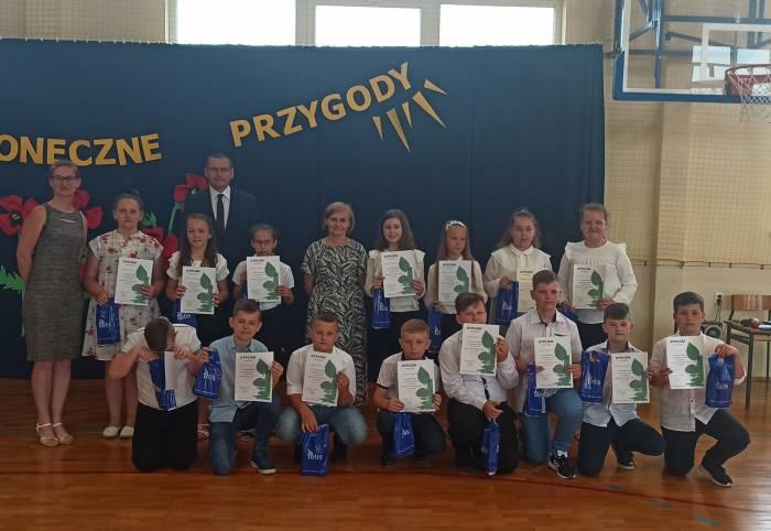 """Międzyrzec Podl : Dzieci wiedzą, jak dbać o ekologię. """"Eco-Kids"""" w międzyrzeckiej szkole - Zdjęcie główne"""