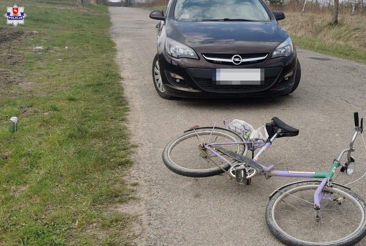 Gmina Opole Lub.: Pijany rowerzysta chciał uciec policji - Zdjęcie główne