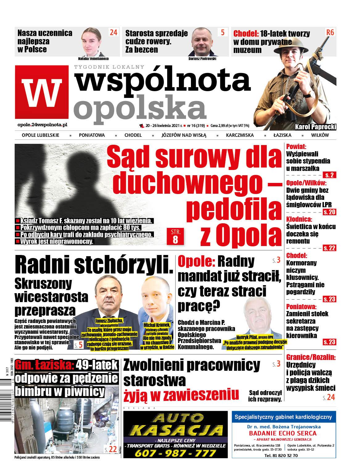 Sąd surowy dla duchownego – pedofila z Opola Lubelskiego - Zdjęcie główne