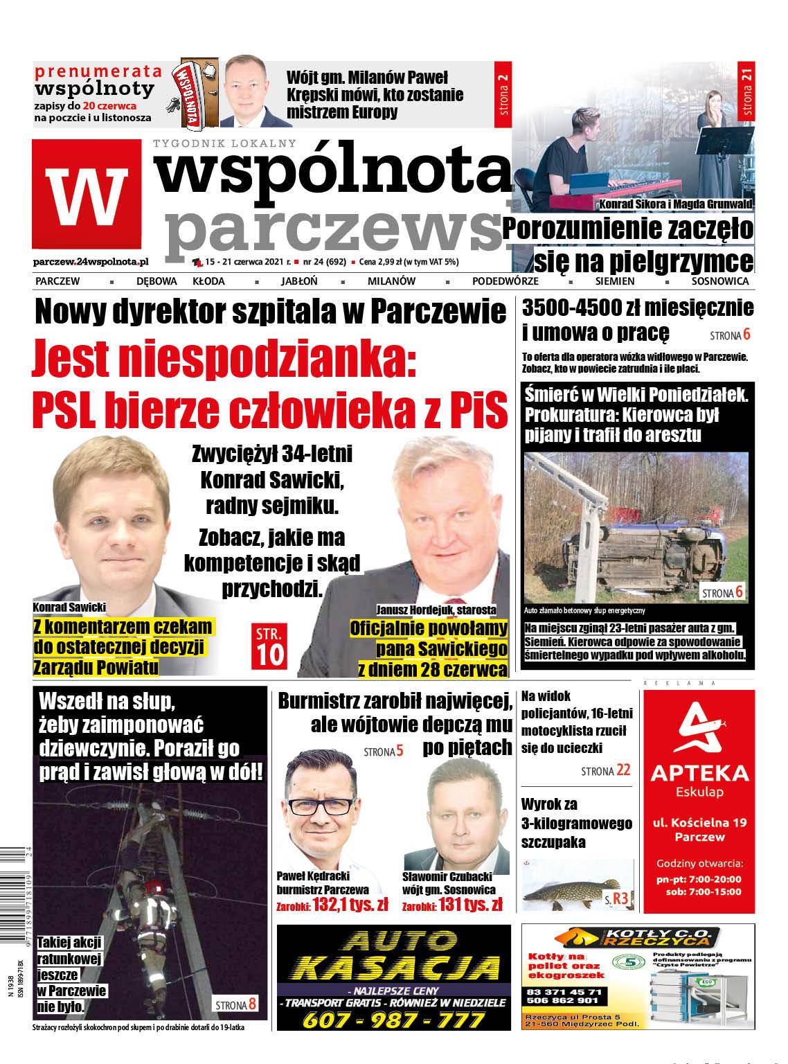 Nowy dyrektor szpitala w Parczewie. Jest niespodzianka: PSL bierze człowieka z PiS - Zdjęcie główne