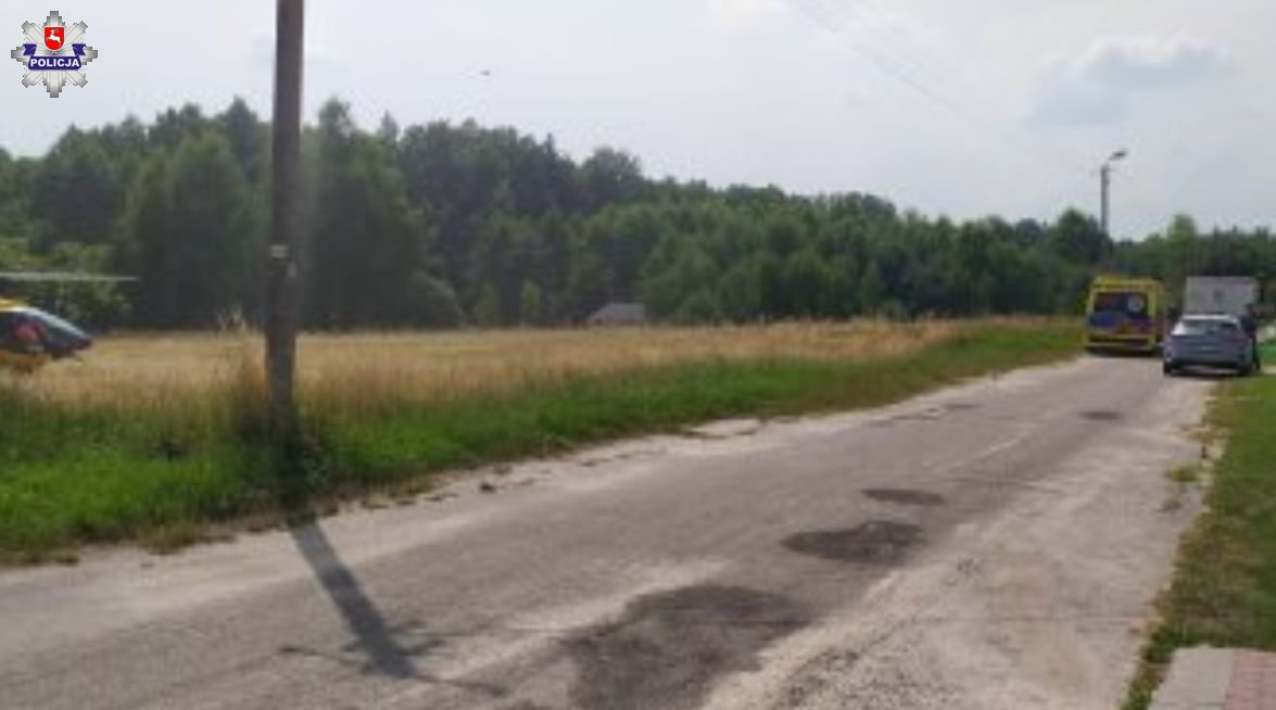Powiat parczewski: Potrącił pieszego w trakcie cofania - Zdjęcie główne