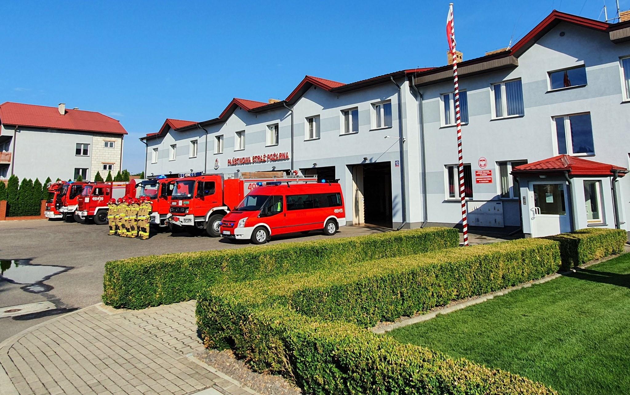 Parczew: straż pożarna chce kupić nowy pojazd. Prosi o pomoc powiat  - Zdjęcie główne