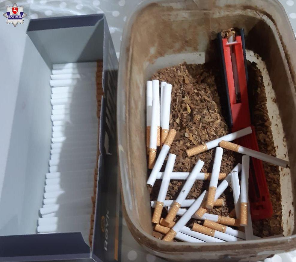 Miał lewy susz tytoniowy i papierosy - Zdjęcie główne