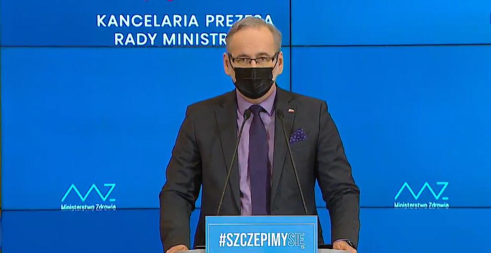 Koronawirus: Minister zdrowia o czwartej fali pandemii. Lockdowny w zależności od poziomu szczepień - Zdjęcie główne