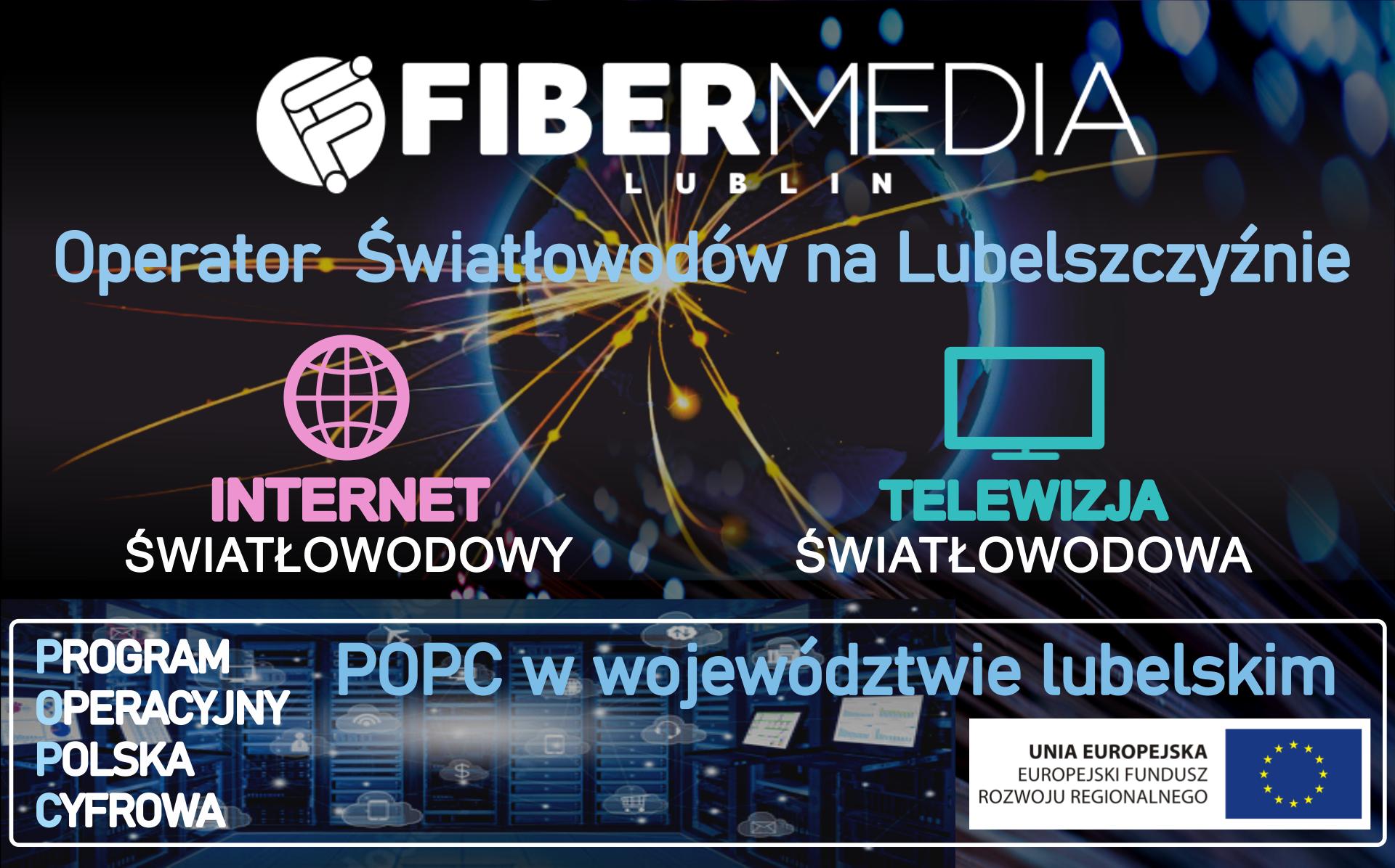 FIBER MEDIA Lublin - debiutant roku czy doświadczony operator? - Zdjęcie główne