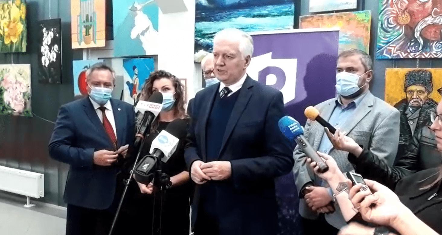 Lublin: Jarosław Gowin w WSEI: Adresujemy swój program do niezgadzających się na ciągłą wojnę polsko-polską - Zdjęcie główne